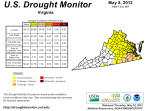 drought monitor may 8